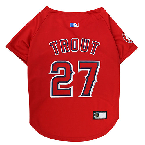 MLB Angels Trout Jersey