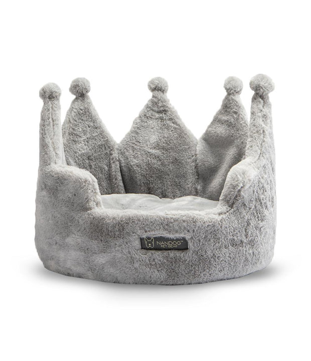 Crown Bed Micro Plush