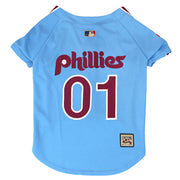 Philadelphia Phillies Dog Jersey - Throwback