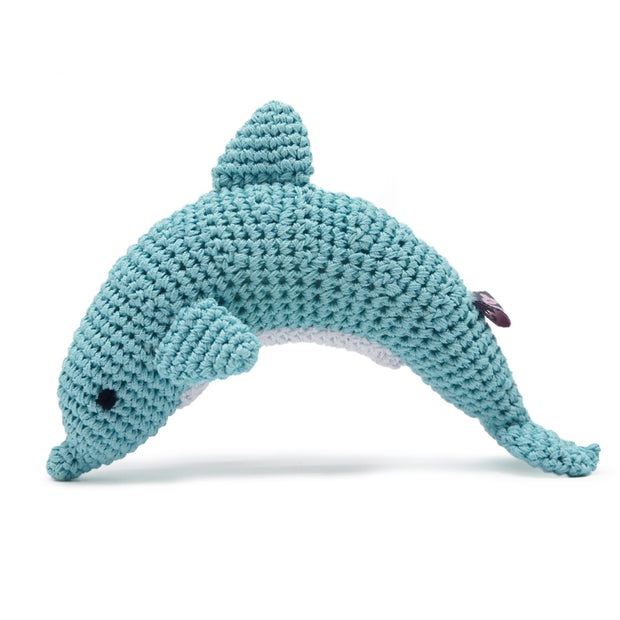 PAWer Squeaky Toy - Dolphin
