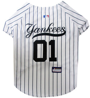 MLB New York Yankees Jersey Pinstripe