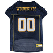 Michigan Wolverines Dog Jersey