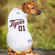 Detroit Tigers Dog Jersey - white