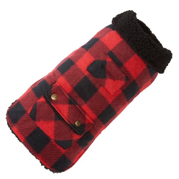 FurryTrendz Buffalo Check Fleece