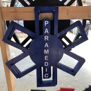 Paramedic Star Of Life - Downing Wood Works