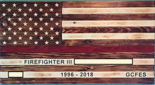 Load image into Gallery viewer, Custom Engraved American Flag - Downing Wood Works