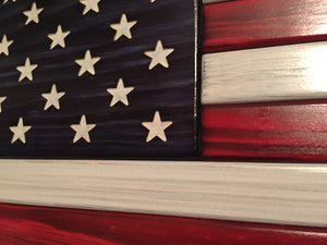 Traditional American Flag - Downing Wood Works