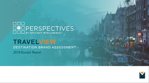 TRAVELVIEW 2019 Europe Report