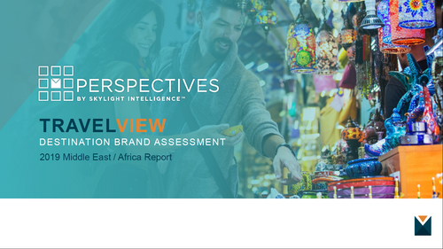 TRAVELVIEW 2019 Middle East / Africa Report