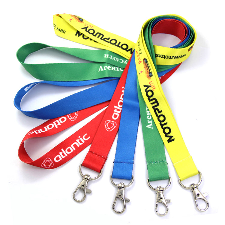 Custom Lanyards Personalized Lanyards with Your Own Logos Text or Motif