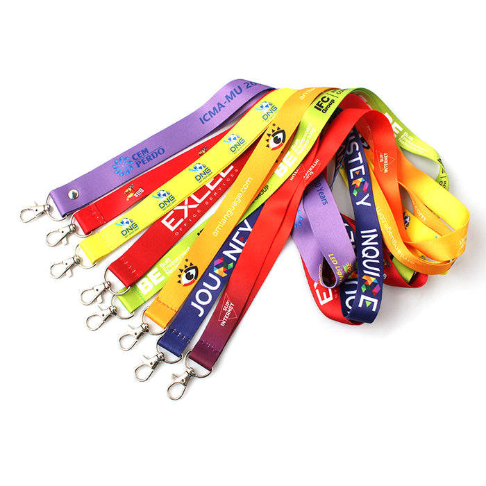 Custom woven-in lanyards