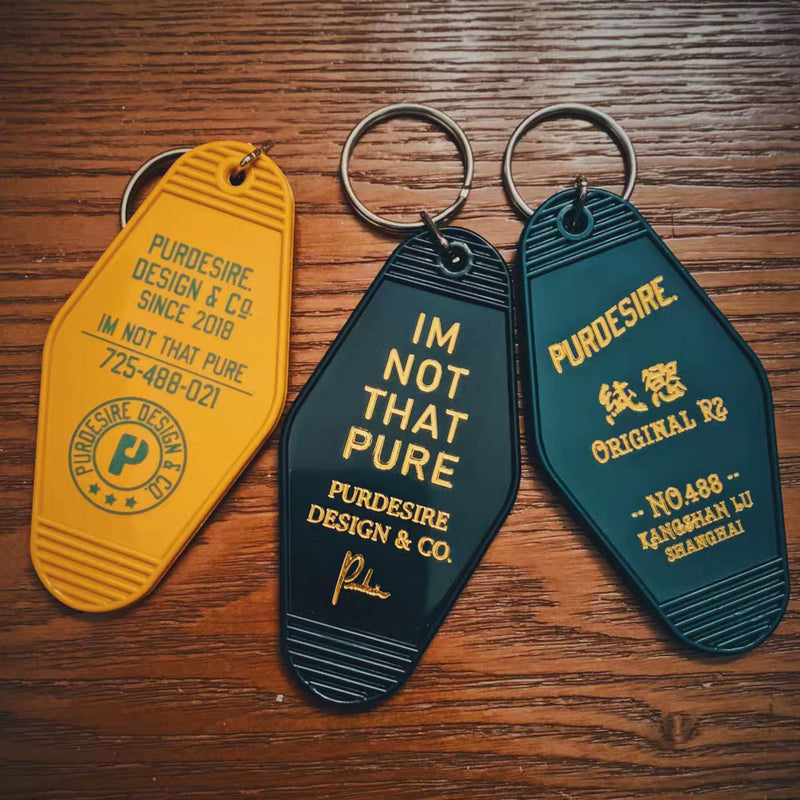 Room Plastic Keychain Portable Anti Lost Creative Decoration Women Car Bag Key Holder
