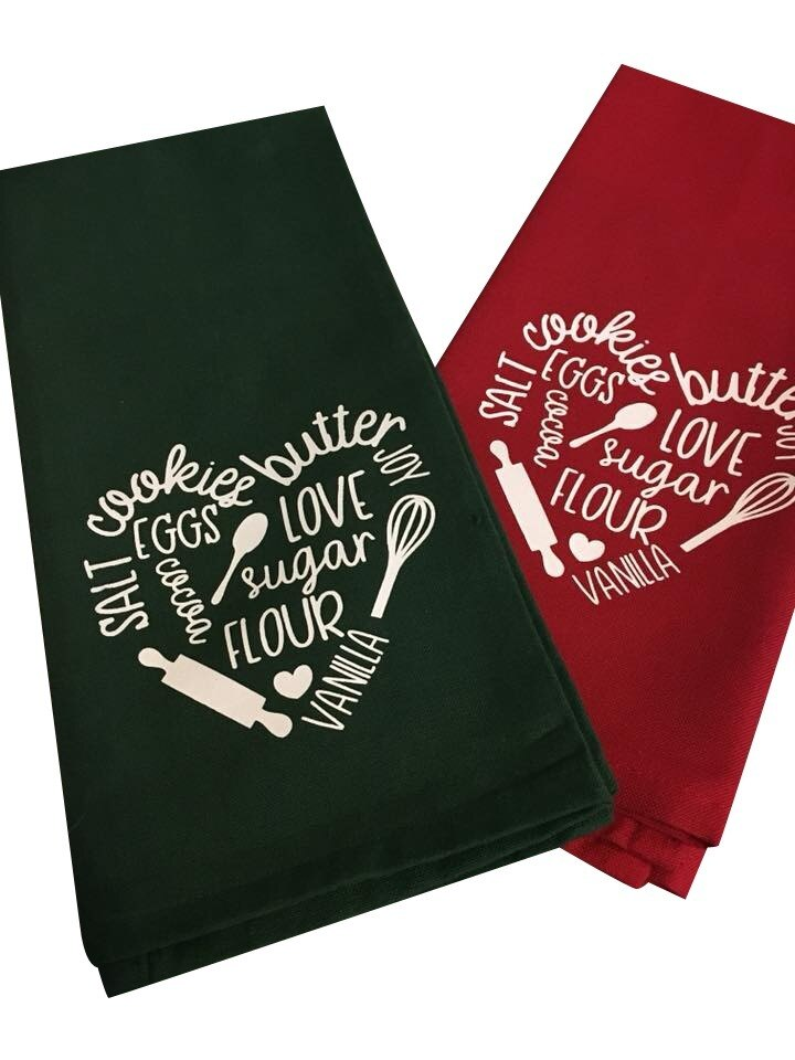Heat printing personalized Towels