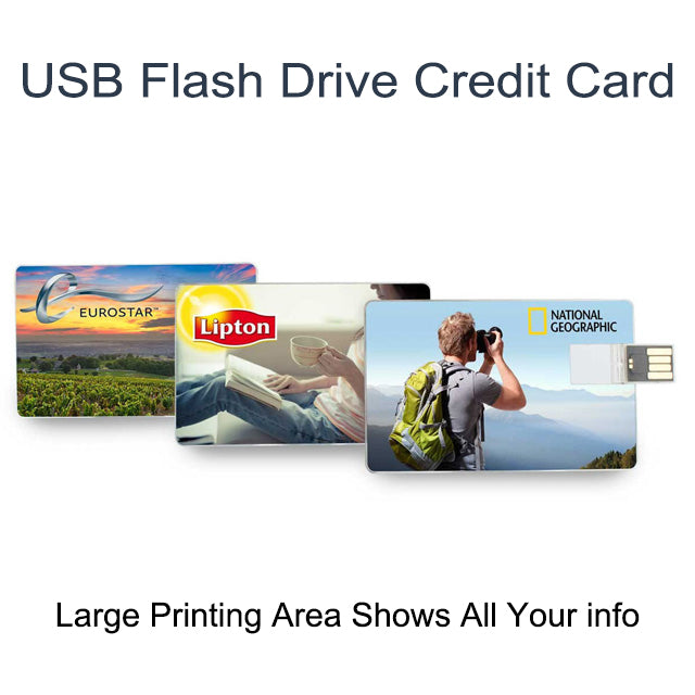Custom Business Card USB Flash Drive Branded USB Credit Card 2.0 2G 4G 8G 32G USB Flash Drive