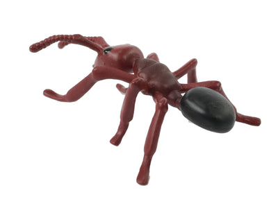 Back of the brown adult ant stage of the ant life cycle figurines set.