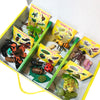 6 life cycle figurine sets, matching sorting cards. Praying mantis, honey bee, ant, butterfly, ladybug, frog.