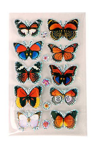 3D Butterfly Stickers - Special Offer!
