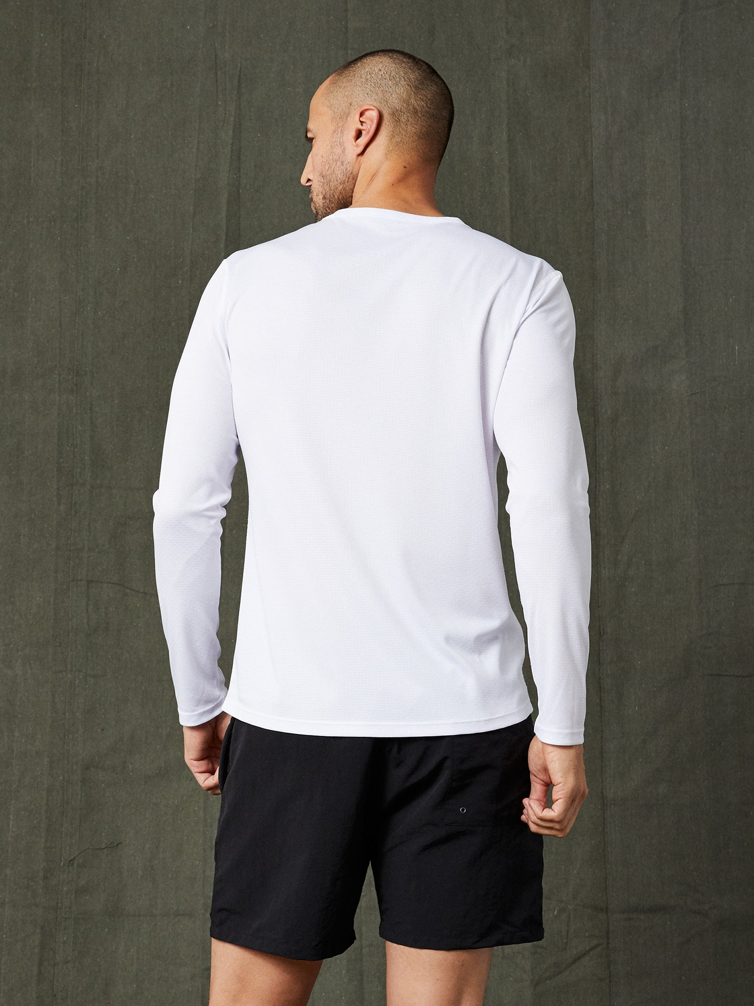 Billy Long Sleeve Tech Tee