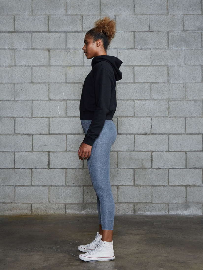 Sway Crop Hooded Sweatshirt