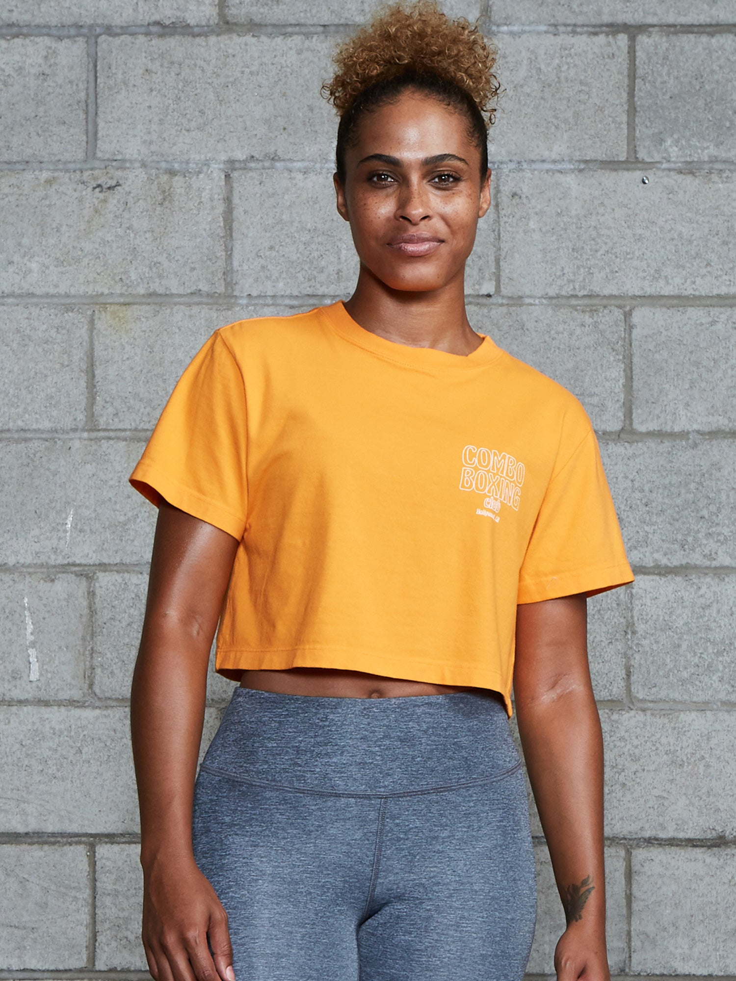 Cropped Club Tee