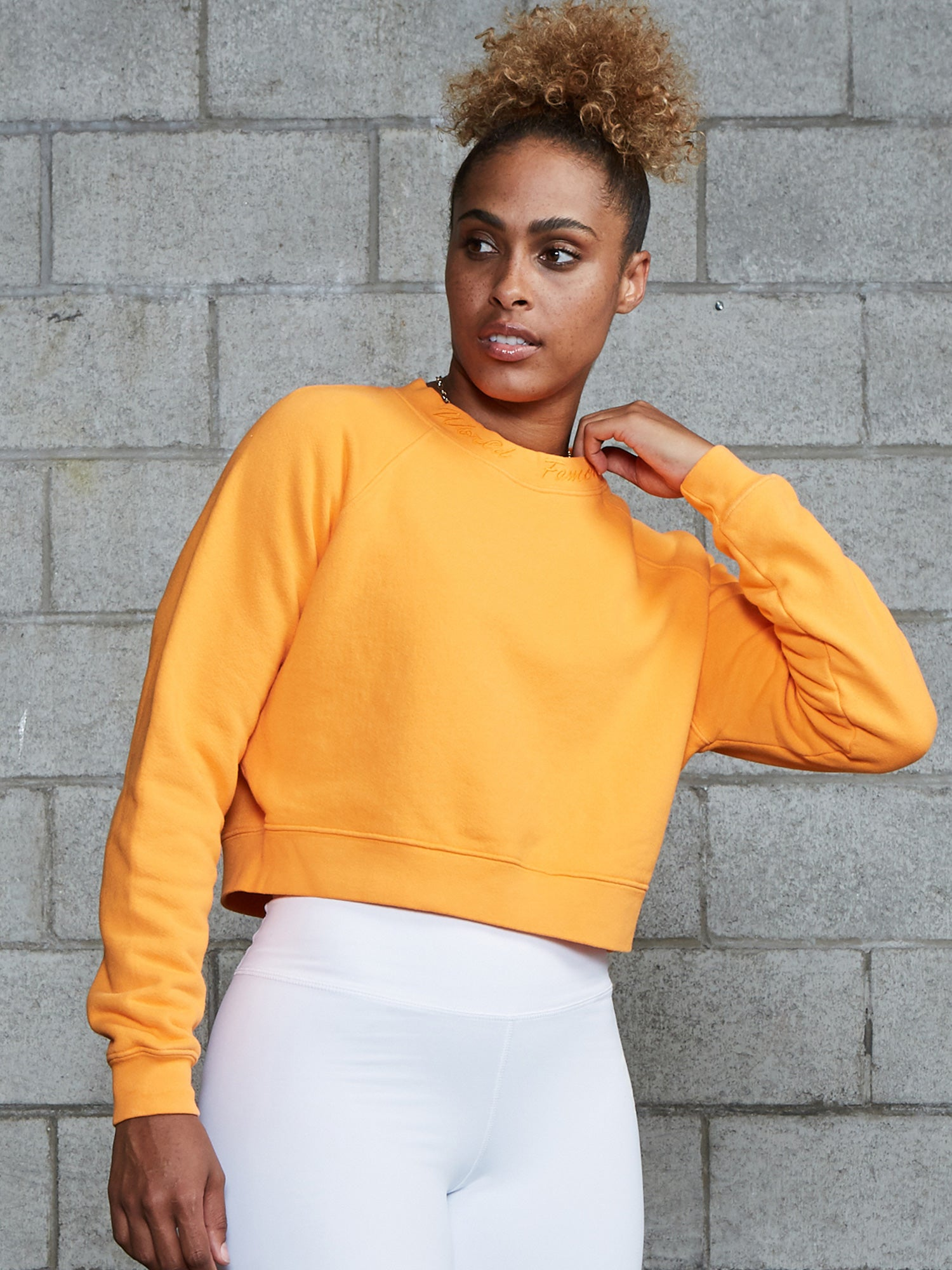 Force Crop Crewneck Sweatshirt