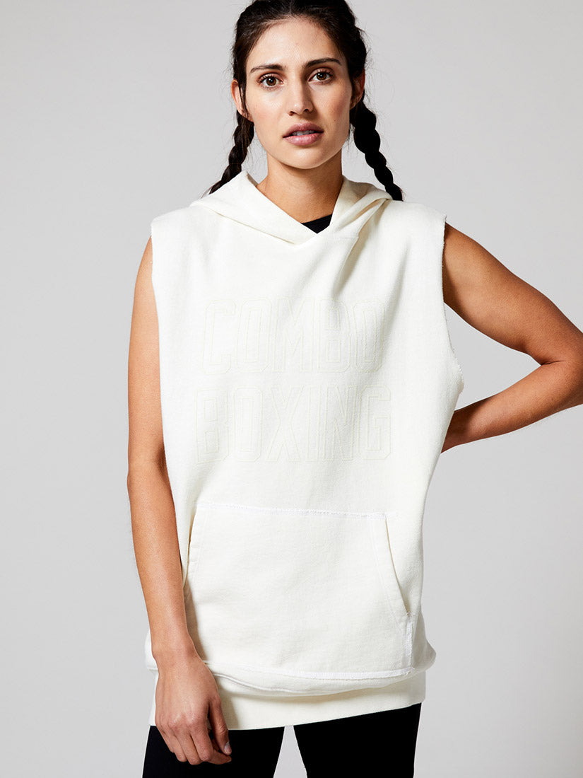 Maxx Sleeveless Hooded Sweatshirt