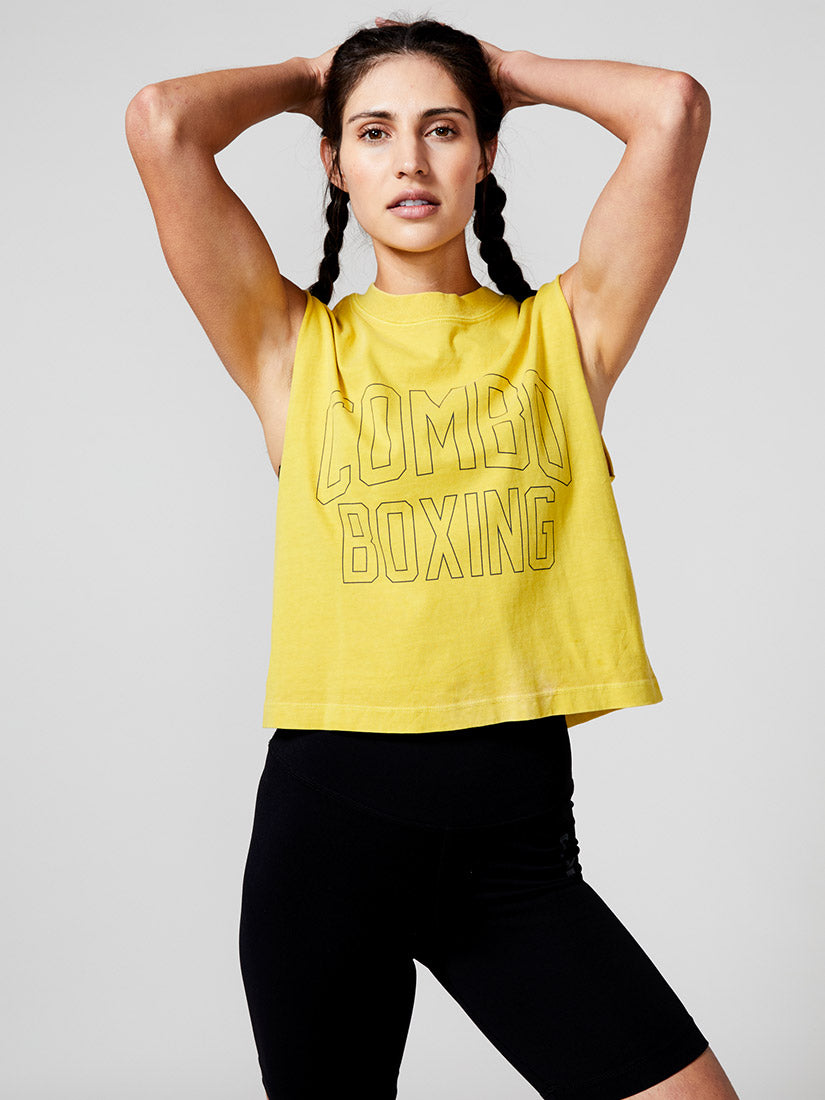 New Energy Muscle Crop Tee