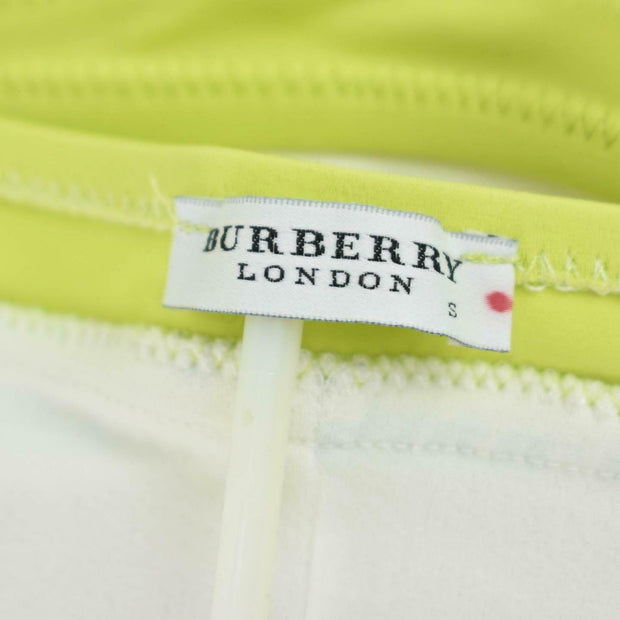 BURBERRY London: Multicolor Logo, One-Piece Swimsuit Sz: S - fits 2 to 4 (oq)
