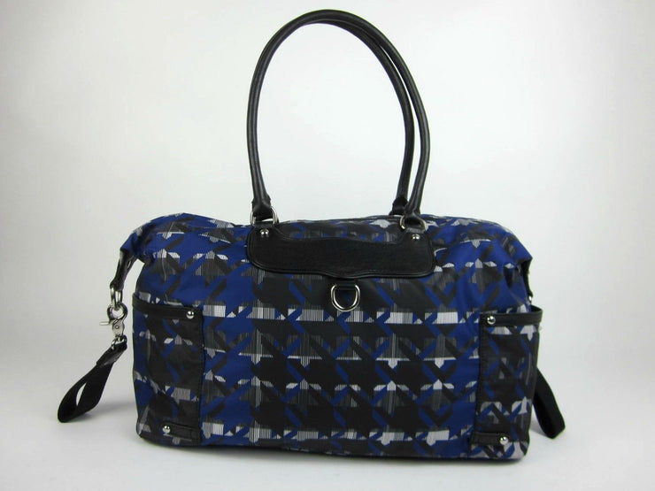 "REBECCA MINKOFF: Blue ""Mom's Essential"" Large Shoulder/Tote Diaper Bag"