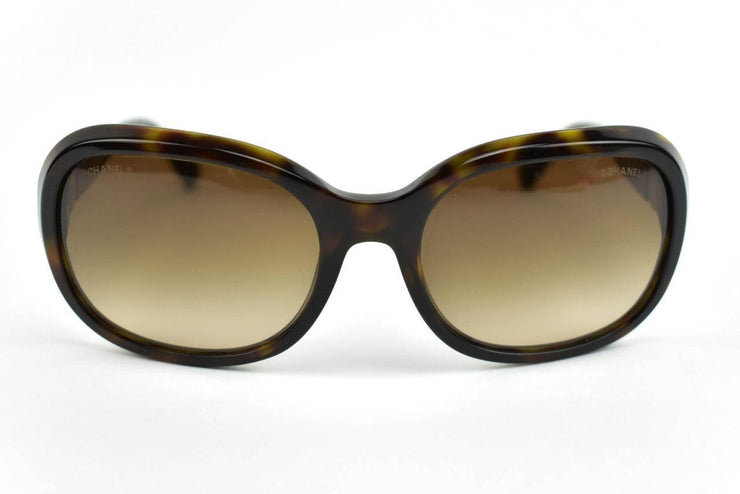 "CHANEL: Tortoise Brown & ""CC"" Logo, Sunglasses (mr)"