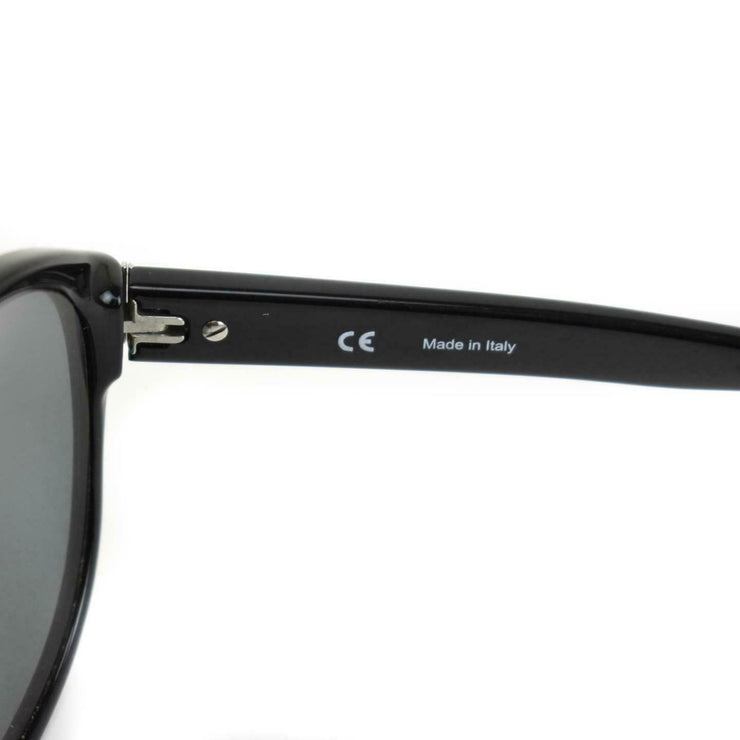 GIVENCHY: Black & Gold Logo Sunglasses (mn)