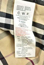 "BURBERRY Baby: Brown, Wool Cashmere & ""Nova Check"" Hooded Car Coat Sz: 6 Months"