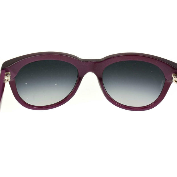 "TIFFANY & CO ""Atlas "": Pearlescent Burgundy, Logo Sunglasses (pn)"
