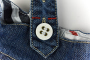"BURBERRY ""Children"": Blue Denim & ""Nova Check"" Overall Skirt Sz: 4Y/104cm"