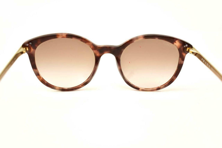 "PRADA ""Cinema"": Rose Tortoise, Logo Sunglasses (qt)"