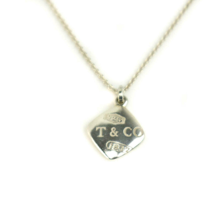 "TIFFANY & CO: Sterling Silver ""1837"" Charm Necklace (zu)"