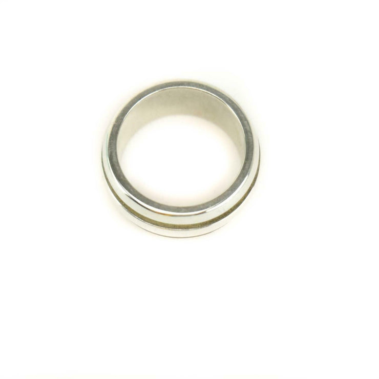 "TIFFANY & CO: Sterling Silver, ""Atlas Groove"" Band/Ring Sz: 6 (mp)"