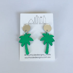 Palm Tree Dangles