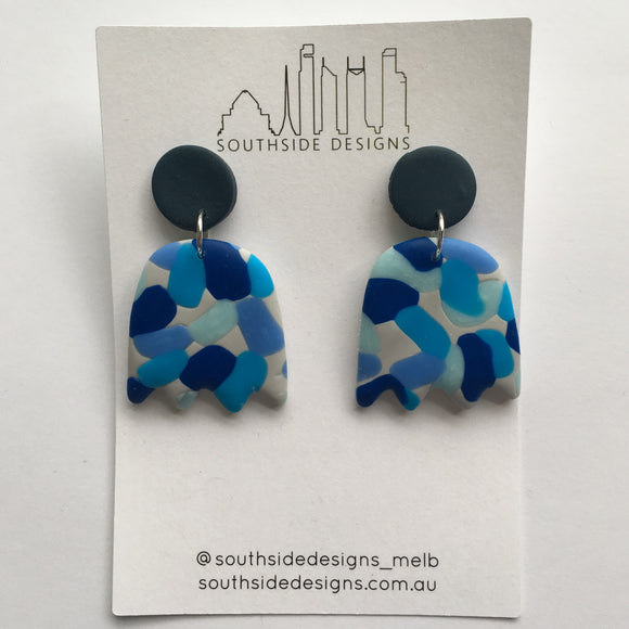 Jelly Clay Dangles in The Blues