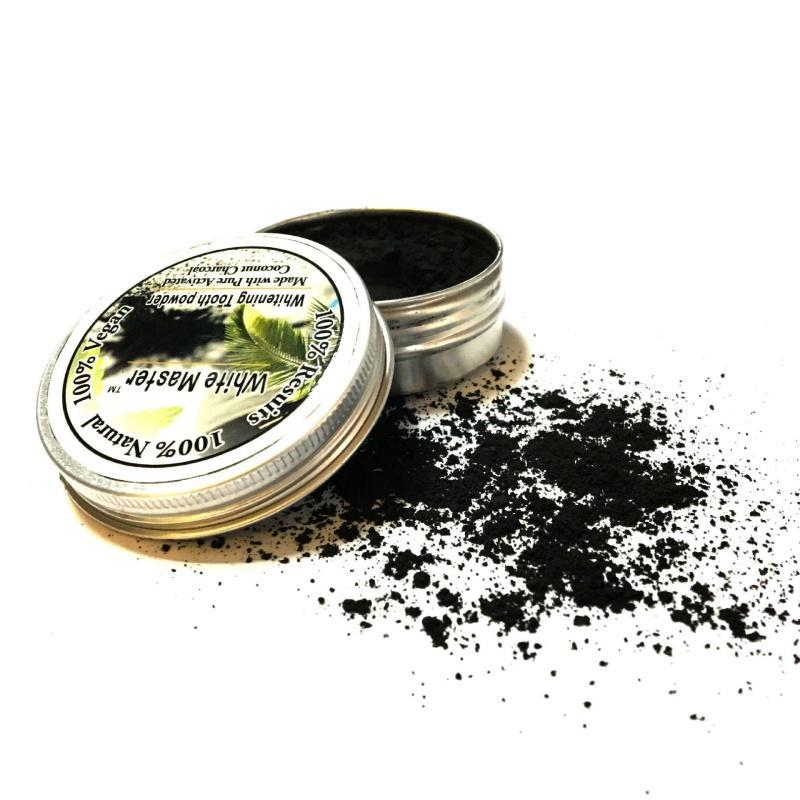 Bamboo & Coconut Charcoal Whitening Powder 20g - Vaireo