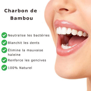 Bamboo Activated Carbon Whitening Powder 30g - Vaireo