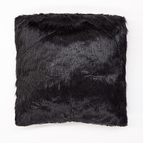 Black Nero Fur Cushion
