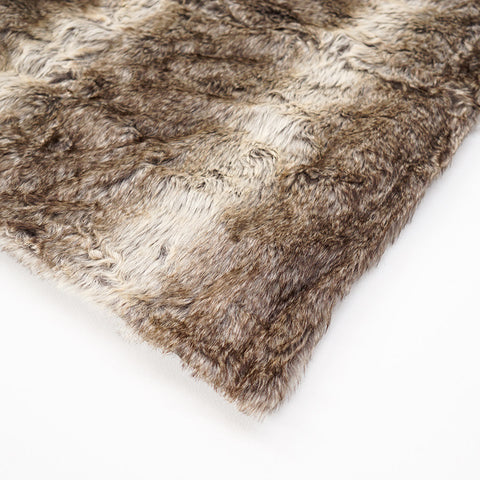 Grizzly Bear Fur Throw Small