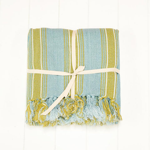 citrus-stripe-throw