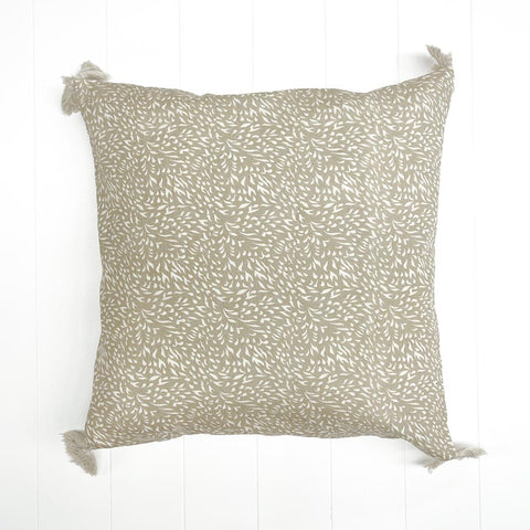 Flame Printed Cushion Biscuit