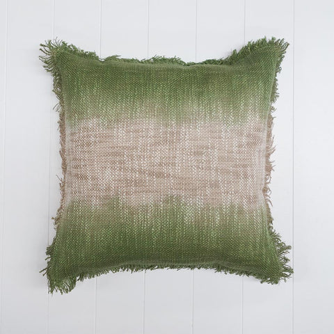 Ombre Printed Cushion Grass