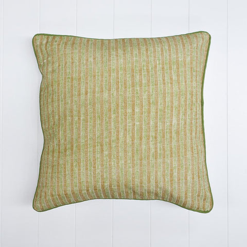 Stripe Printed Cushion Grass