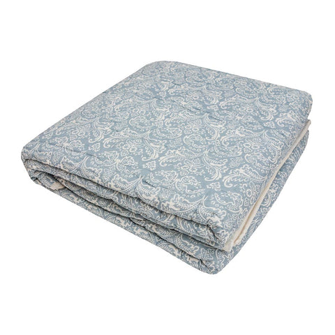 Empire Quilted Bedcover Sky