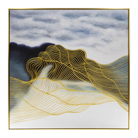 Geo Gold Print Artwork