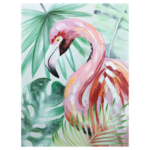 Flamingo Palm Artwork